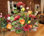 The Merrystem in downtown Franklin offers custom floral arrangements using warm and cool tones.
