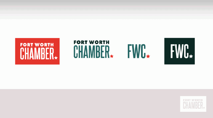 The Fort Worth Chamber of Commerce has rebranded with a new logo and website. (Courtesy Fort Worth Chamber of Commerce)