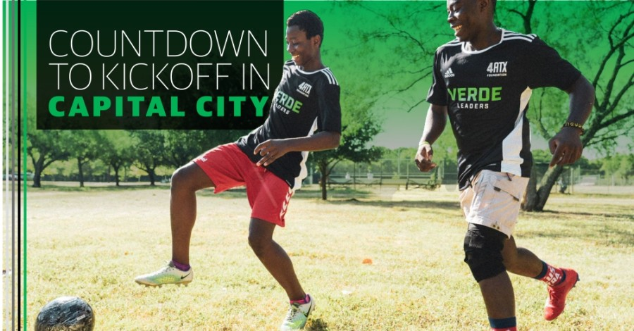 The 4ATX Foundation uses soccer to teach local kids life and leadership skills. (Photo courtesy Austin FC)