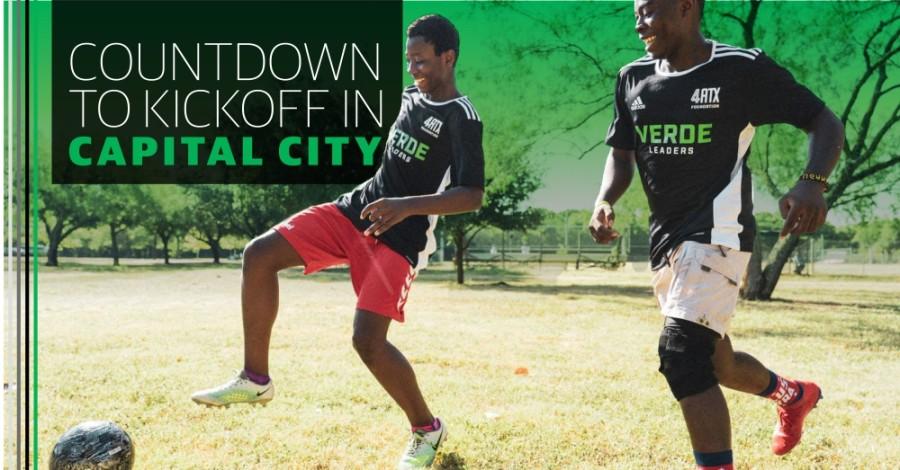 The 4ATX Foundation uses soccer to teach local kids life and leadership skills. (Photo courtesy Austin FC)
