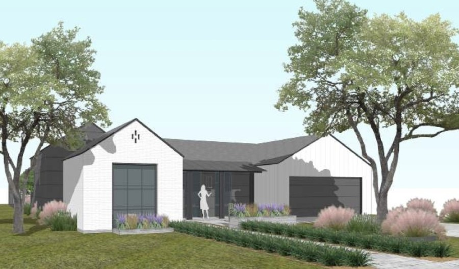 The McKinney Planning and Zoning Commission supported a rezoning request that could allow cottage homes to be constructed on the Storybook Ranch property located at 3701 Custer Road, McKinney. (Rendering courtesy city of McKinney)