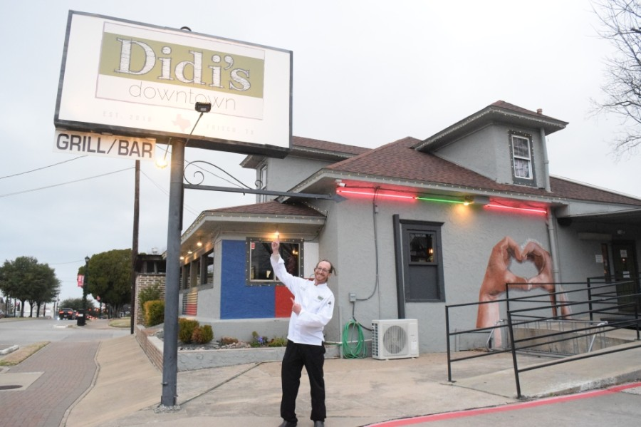 Didi's Downtown at 7210 Main St. opened in 2018. Owner and chef Scott Hoffner says the unassuming, family-friendly space aims to impress everyone who walks through the door. (Matt Payne/Community Impact Newspaper)