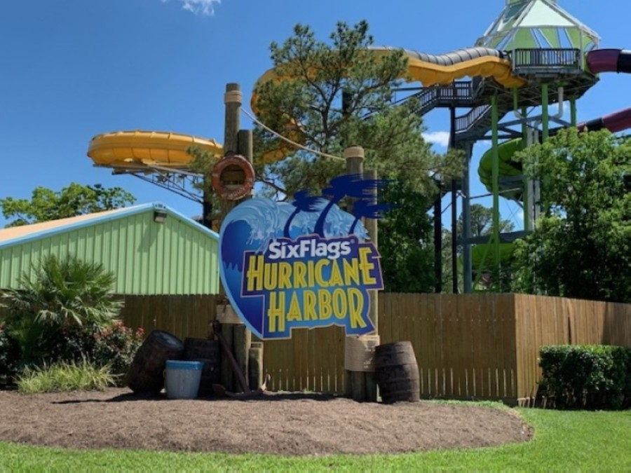Following a yearlong hiatus due to the ongoing coronavirus pandemic, Six Flags Hurricane Harbor Splashtown officials are planning to reopen the Spring water park for the 2021 season May 1. (Courtesy Six Flags Hurricane Harbor Splashtown)