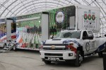 The mobile museum will offer interactive exhibits, short films, and stories about patriotism and military service. (Courtesy Wreaths Across America)
