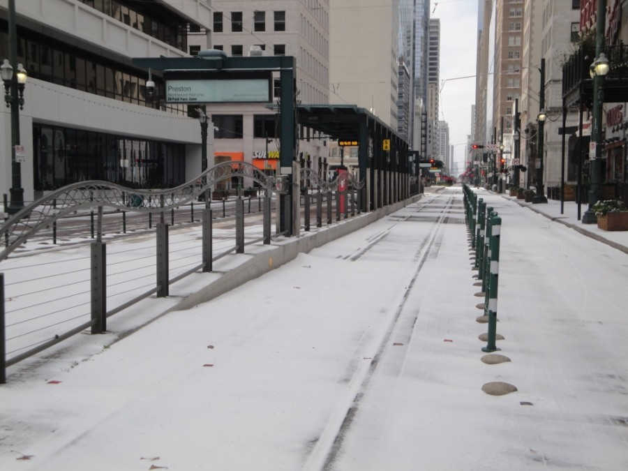 Winter Storm Uri led to closures across the Greater Houston area during the third week of February. (Courtesy Metropolitan Transit Authority of Harris County)