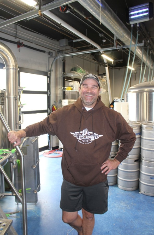 Rob Gagnon, Flying Basset Brewing