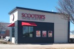 Scooter's Coffee building.
