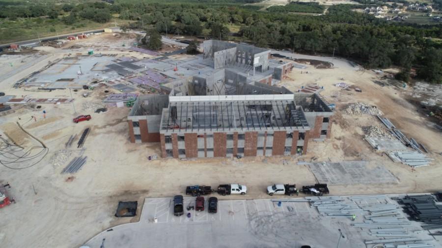 Tarvin Elementary School construction
