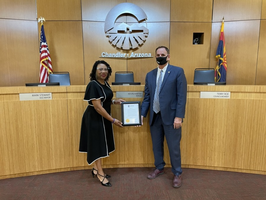 March 1 marks COVID-19 Memorial Day in Chandler after the city issued a proclamation last week. (Courtesy city of Chandler)
