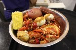 Hank's Crab Shack gets and sells several hundred pounds of crawfish daily, especially during the peak of crawfish season. (Morgan Theophil/Community Impact Newspaper)