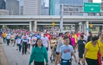 The 32 annual Walk to End HIV will have a virtual format this year encouraging donations. (Courtesy Morris Malakoff/AIDS Foundation Houston)