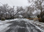 Ice covered utility lines across Austin. (Iain Oldman/Community Impact Newspaper)
