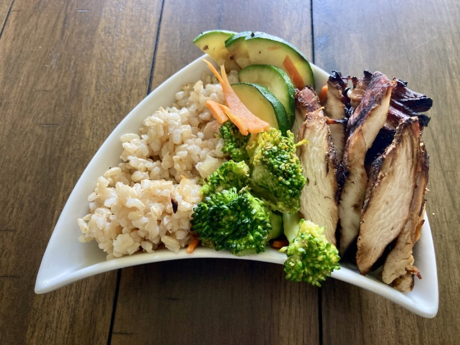 Teriyaki Chicken will serve bowls of Asian-inspired teriyaki food with fresh vegetables, rice and protein. (Community Impact Newspaper staff)
