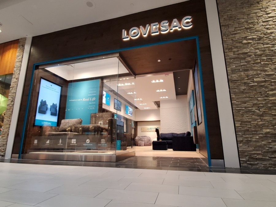 Lovesac Company is bringing its store and showroom to Rice Village this spring. (Courtesy Lovesac Company)