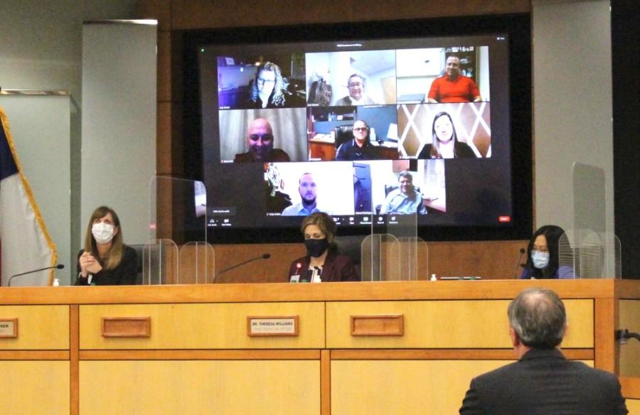 Plano ISD board meeting