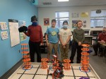 A team of All Nations and Journey school students recently competed inn the VEX IQ robotics challenge co-hosted by Clemson University. (Courtesy All Nations Community School)