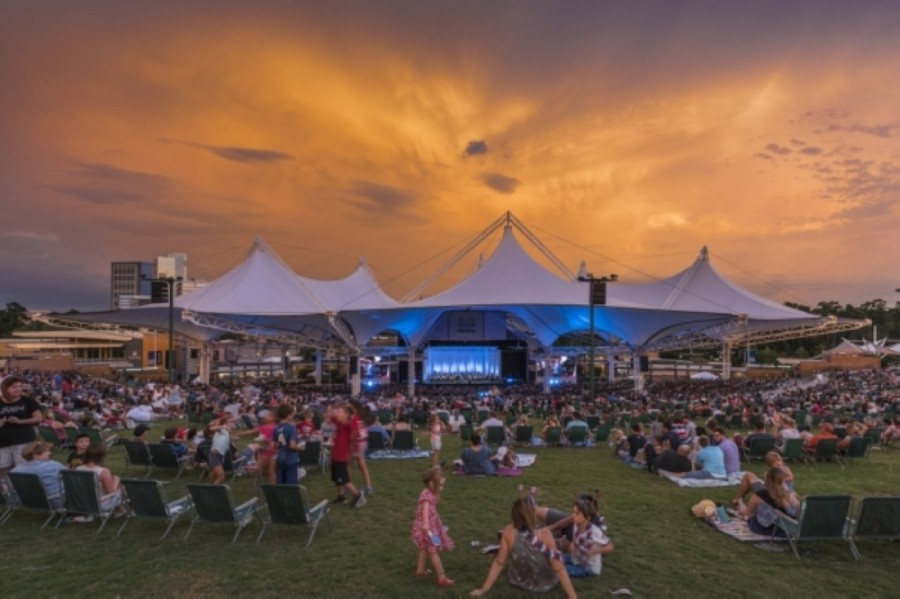 The Pavilion is looking to bring live shows back this summer. (Courtesy The Cynthia Woods Mitchell Pavilion)