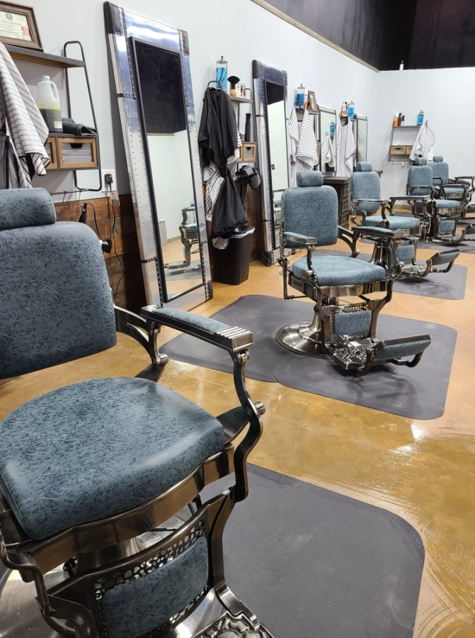 ManBasics barbershop and speakeasy opened at FM 1488, Ste. 106, Conroe, in November last year. (Courtesy ManBasics)