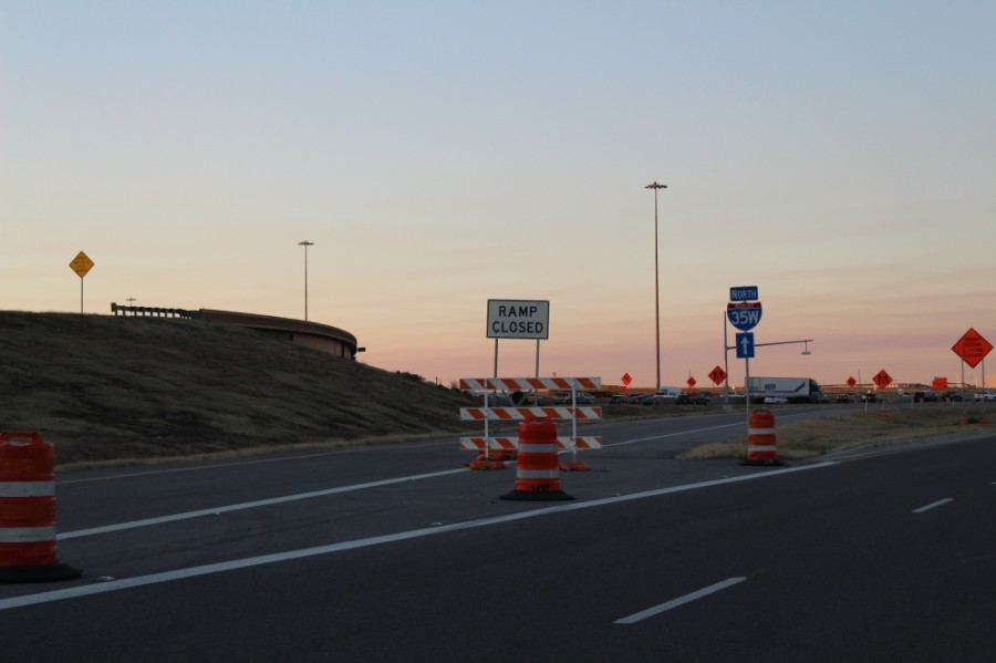 A Texas Department of Transportation project would increase the number of main lanes from four to six on a 17-mile portion of I-35W. (Sandra Sadek/Community Impact Newspaper)