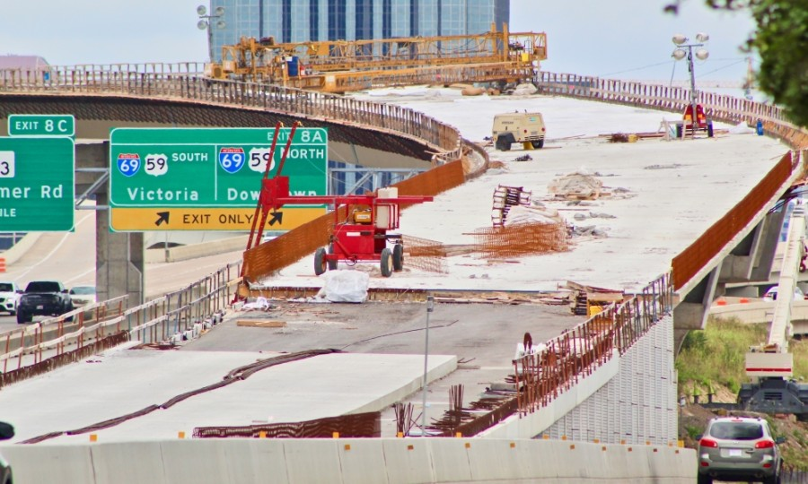 I-69 Southwest Freeway at I-610 West Loop will be closed March 5-8. (Community Impact staff)