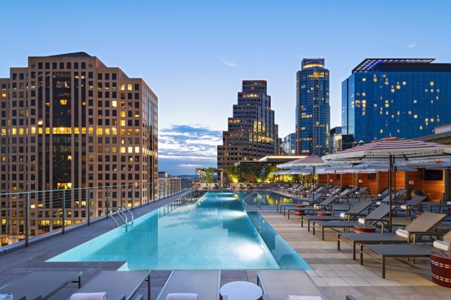 Austin Marriott Downtown opens March 4. (Courtesy Austin Marriott Downtown)
