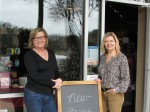 Jeanne Cooper (left) and Melissa Greenwell opened C'est Chic in 2009. (Nicholas Cicale/Community Impact Newspaper)