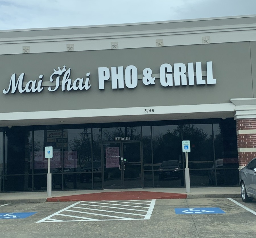 Mai Thai Pho and Grill is located at 3145 Silverlake Village Drive, Ste. 112, Pearland. (Papar Faircloth/Community Impact Newspaper)