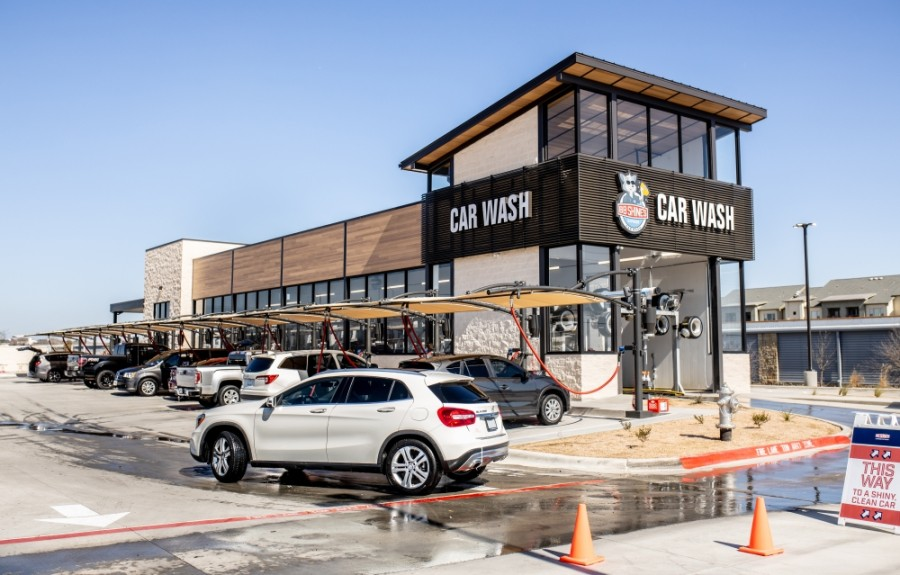 BB Shine's Express Car Wash held its grand opening Feb. 6-7 at 11560 Hero Way West, Leander. (Courtesy BB Shine's Express Car Wash)