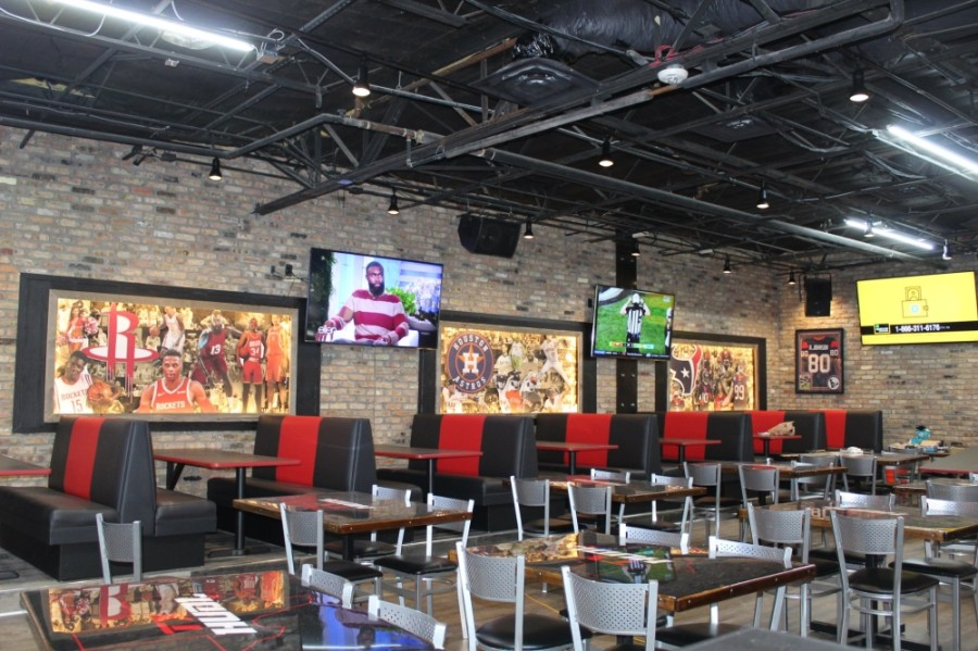 Texas Huddle Grille and Sports Bar opened in January at 803 E. NASA Parkway, Webster. (Courtesy city of Webster)