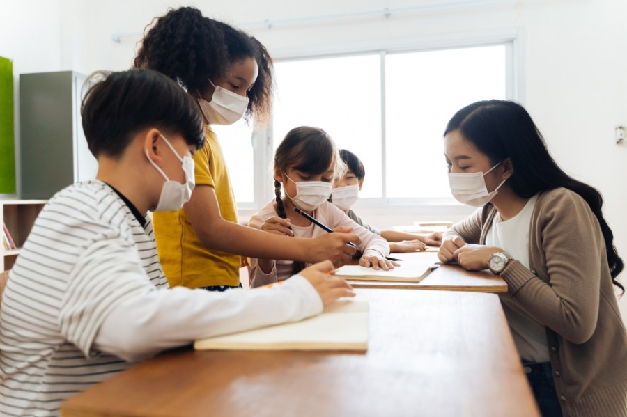 Under the updated Texas Education Agency guidance Lake Travis and Eanes ISD will continue its current practice of requiring all students, staff, teachers and visitors to wear masks while in schools or in district buildings. (Courtesy Adobe Stock)