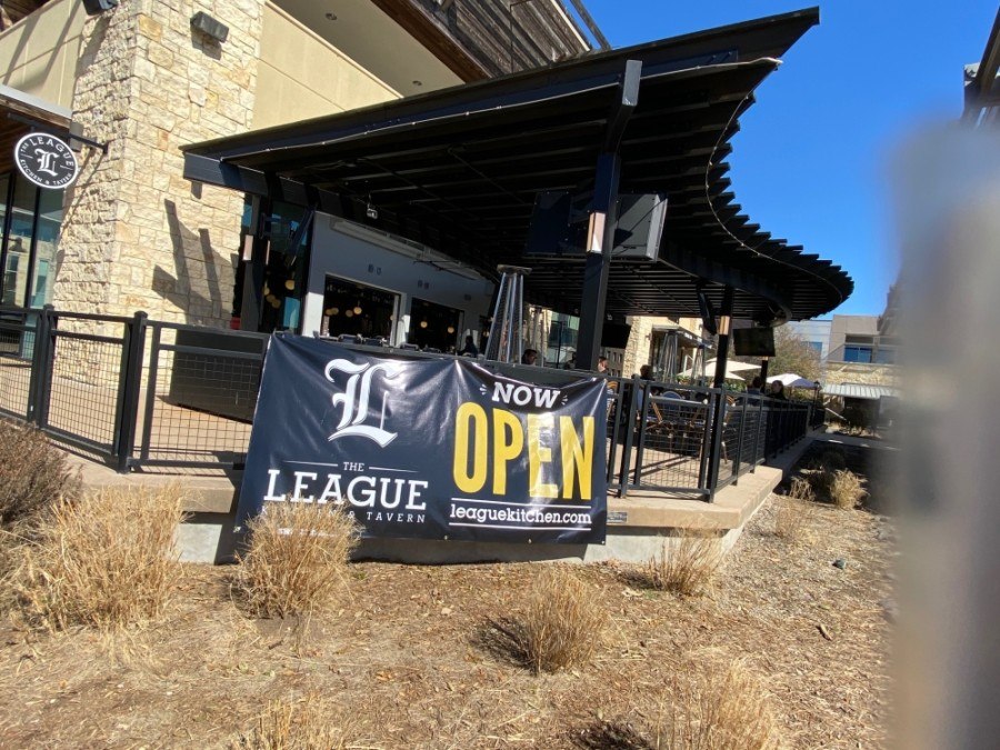 The League Kitchen & Tavern opened in Bee Cave's Hill Country Galleria on March 2. (Phyllis Campos/Community Impact Newspaper)