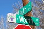 Construction on East Worth Street in Grapevine will commence this summer. (Sandra Sadek/Community Impact Newspaper)