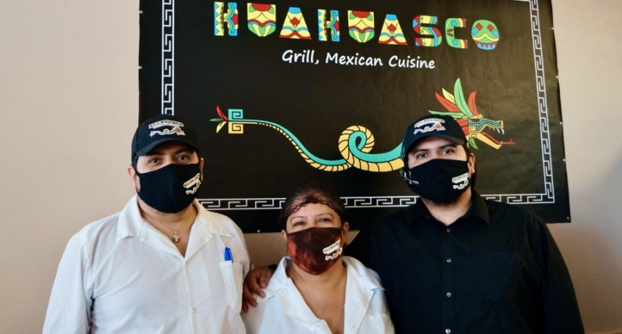 Jose Leon said it was always his mother Bertha's dream to own a restaurant. Last March, that dream became a reality with the opening of Huahuasco Grill Mexican Cuisine in Pflugerville. (Kelsey Thompson/Community Impact Newspaper)