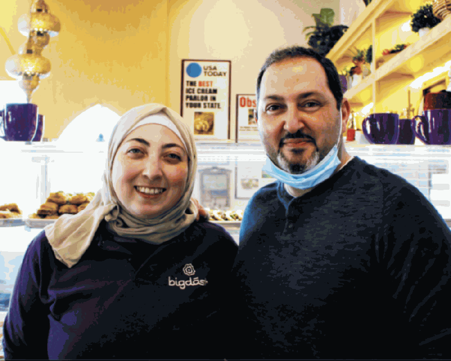 Asmaa Khattab and Kareem Alrefaai opened Bigdash's Frisco location in February 2020. (Francesca D'Annunzio/Community Impact Newspaper)