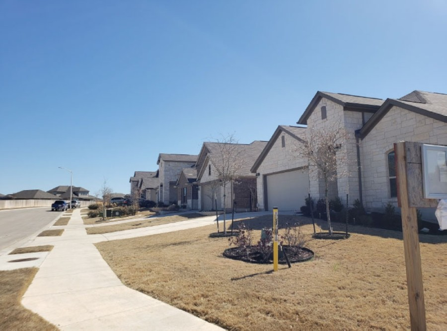 Located off US 183, the Larkspur neighborhood in Leander offers an easy commute. (Ali Linan/Community Impact Newspaper)