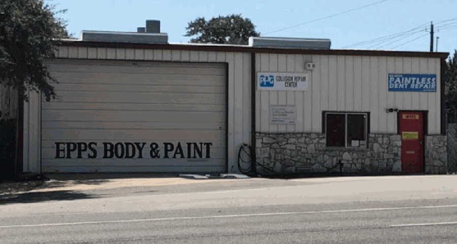 Epps Body & Paint will celebrate its 10-year anniversary in April. (Courtesy Melissa Takamatsu)
