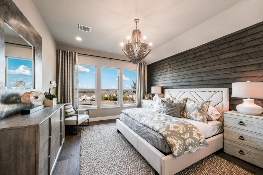 Under the partnership, Tri Pointe Homes will construct 217 single-family homes, while Meritage Homes will build 263 homes. (Courtesy Tri Pointe Homes)