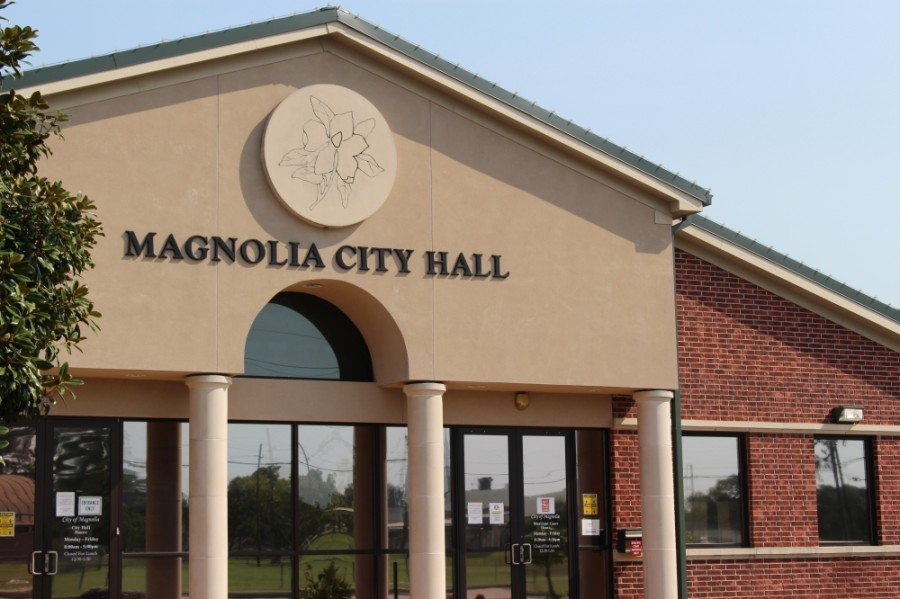 Magnolia council members discussed emergency response and mass communication efforts in a March 10 council meeting. (Adriana Rezal/Community Impact Newspaper)