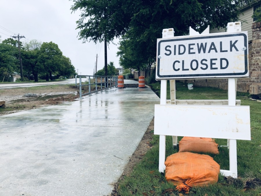 The city of Sugar Land will begin sidewalk repairs on approximately 300 requests from residents in March. (Ian Pribanic/Community Impact Newspaper)