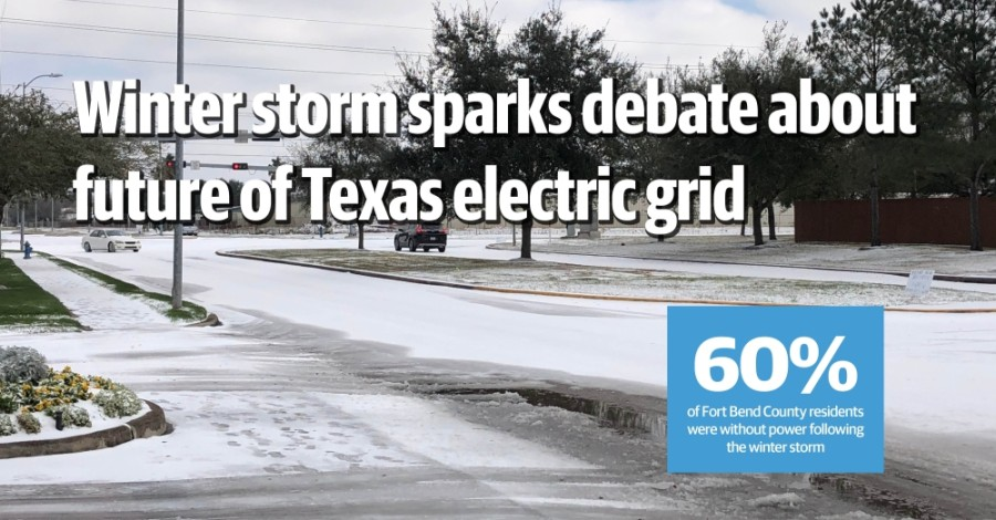 Record-setting Winter Storm Uri left Sugar Land and Missouri City residents without power for days. (Claire Shoop/Community Impact Newspaper)