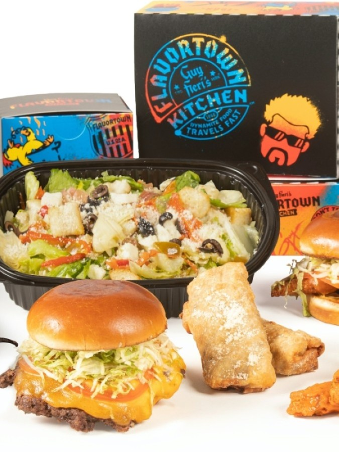 Guy Fieri's Flavortown Kitchen is a delivery-only kitchen. (Courtesy Guy Fieri's Flavortown Kitchen)