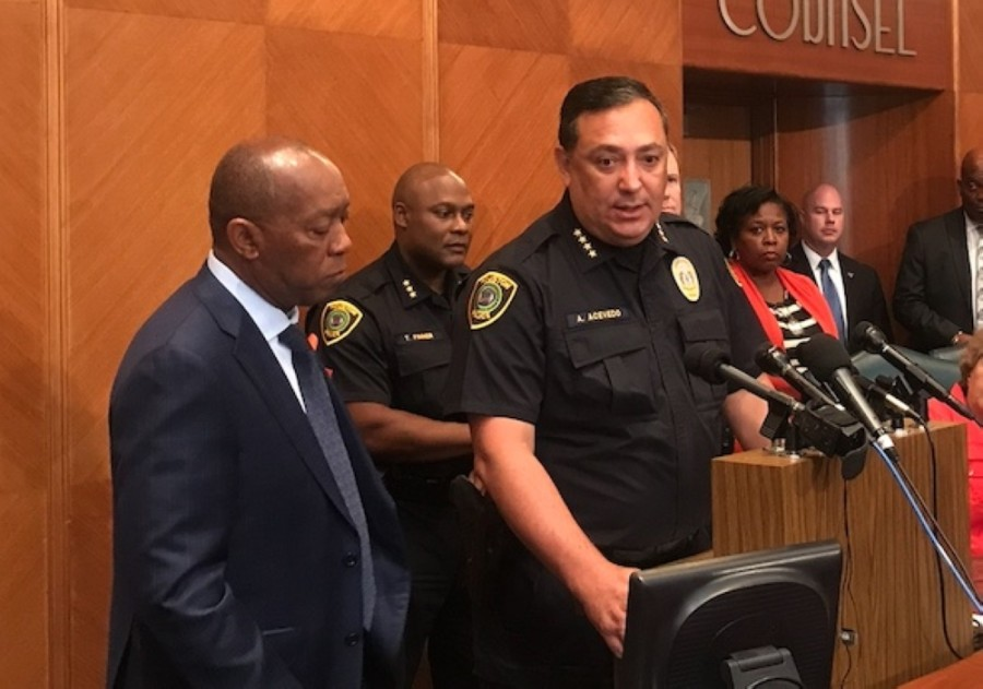 Houston Police Chief Art Acevedo is stepping down, the police union confirmed. (Community Impact Newspaper file photo)