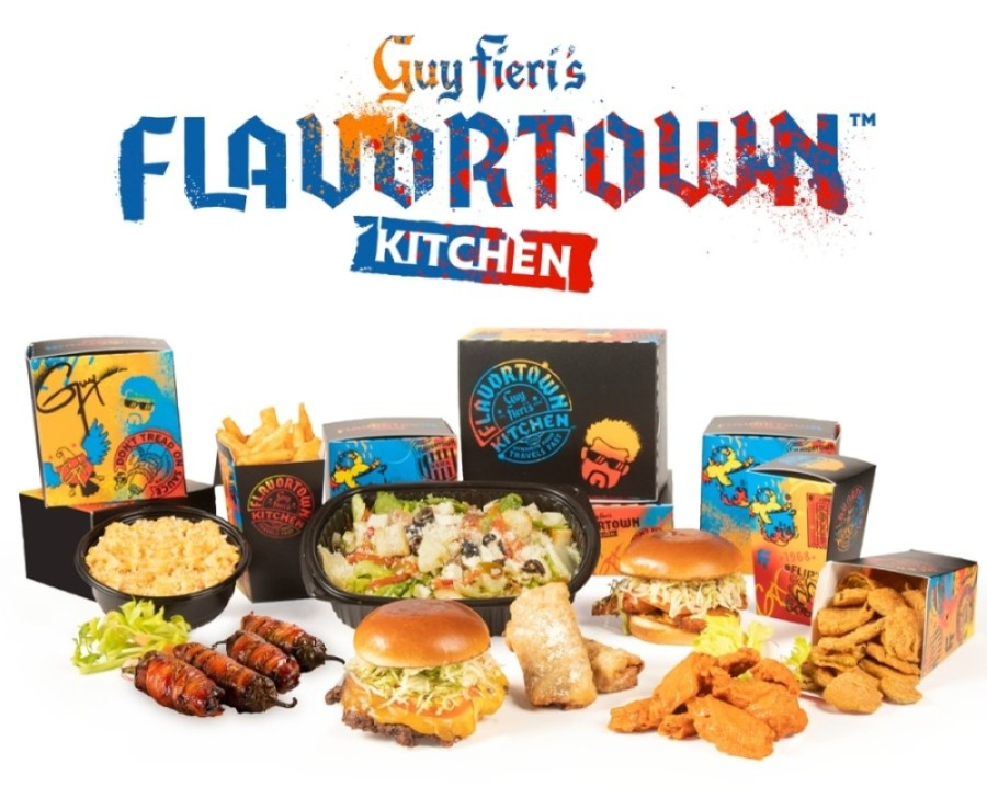 Two Guy Fieri's Flavortown Kitchens opened in Southlake. (Courtesy of Guy Fieri's Flavortown Kitchen)