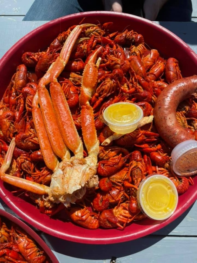This is the second location for the Kingwood-based business, which specializes in selling live and boiled crawfish, shrimp and crab as well as its signature seasoning blend. (Courtesy Swamp Donkeys Crawfish and Seafood)