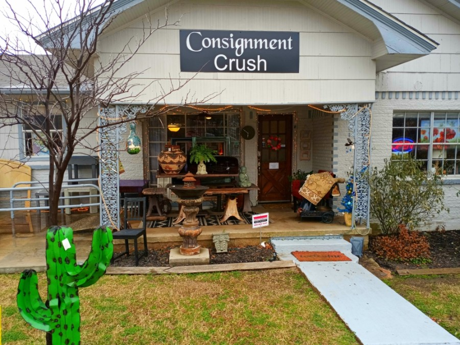 Consignment Crush is nestled in the heart of the Rail District, selling everything from sake glasses, trinkets from travels, pop art and dishware to vintage suitcases and accessories from decades long gone. (Courtesy Consignment Crush)
