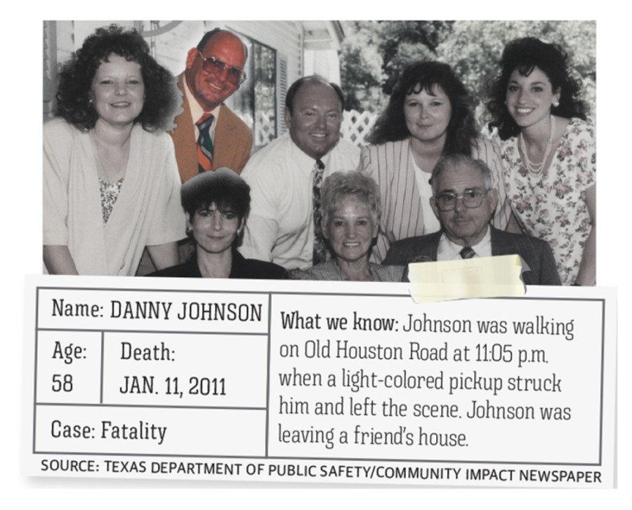 The case of who killed Danny Johnson, a man who lived in the Conroe area, has grown cold, but Johnson's niece Alana Johnson said the family still desperately seeks answers.
