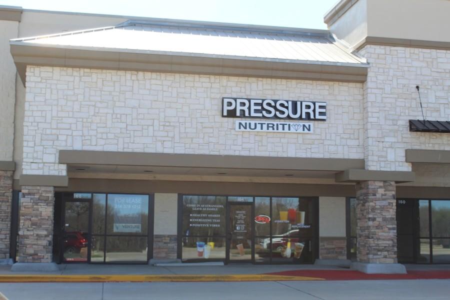 Pressure Nutrition storefront