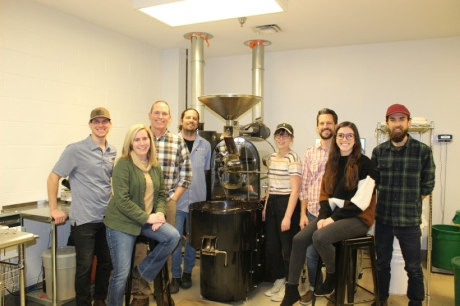 Narrow Gate Coffee Co. operates from Narrow Gate's facility in Franklin. (Wendy Sturges/Community Impact Newspaper)