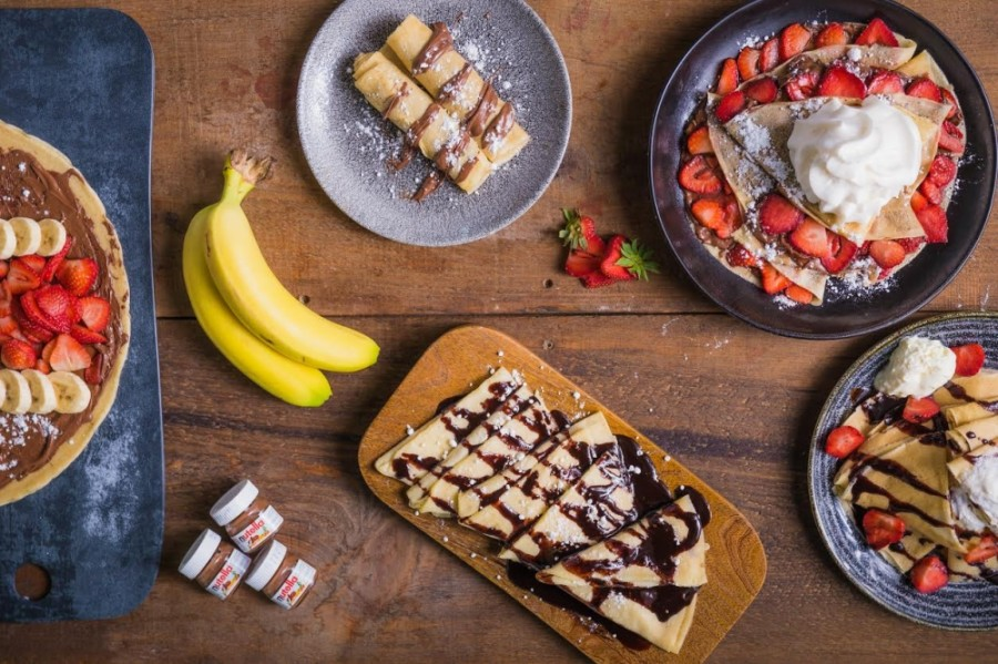 Crepe Delicious is cooking up plans to open a kiosk inside Stonebriar Centre early summer 2021. The kiosk's options include both sweet and savory crepes. (Courtesy Crepe Delicious)