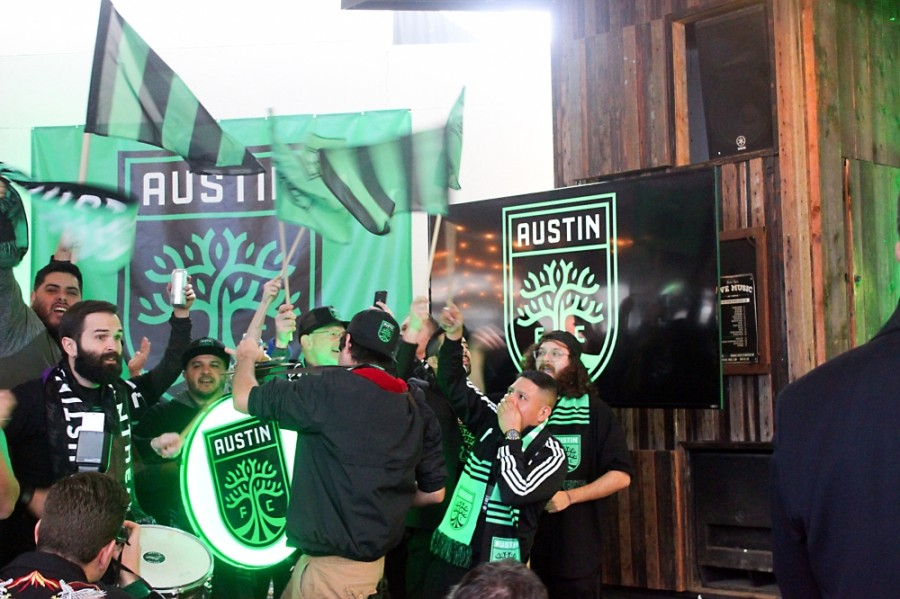 Austin FC supporters
